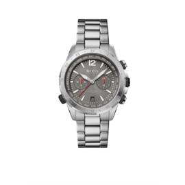 Hugo Boss Horloge Aero Zilverkleurig Horloge met Edelstalen Band van Boss