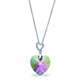 Tender Heart Groene Swarovski Ketting van Spark Jewelry