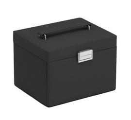 Rechthoekige Zwarte Sieradenbox voor Dames