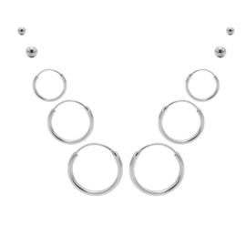 Karma Jewelry – Tiendelige Best Basics Earparty Set - Zilver