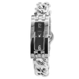 Prisma Elegant Slank Dames Horloge met Edelstalen Schakelband