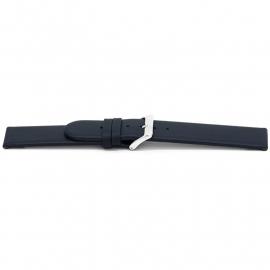 Horlogeband H607 Classic Blauw Ongestikt 22x22 mm NFC