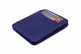 Blauwe Magic Wallet RFID Portemonnee van Hunterson