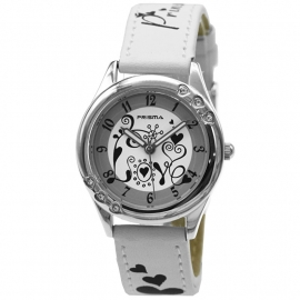 Prisma Horloge P.2547 Kids HT Annemiek Wit