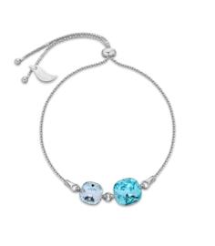 Armband van Spark Jewelry met Turquoise Glaskristallen