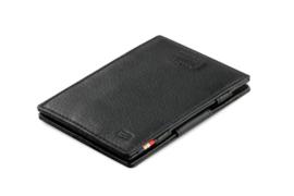 Raven Zwarte Nappa Magic Wallet Portemonnee van Cavare Garzini