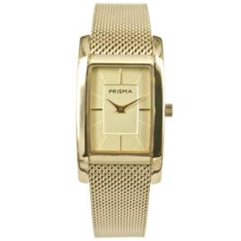 Klassiek Goudkleurig Dames Horloge van Prisma