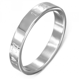 I LOVE YOU Ring - Graveren mogelijk SKU53023