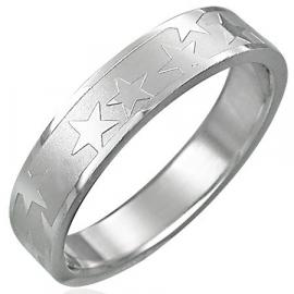 Sterren ring / Zilver kleur SKU24737