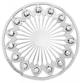 Zilveren 33 mm MY iMenso Glanzende Cover Munt + Bedel