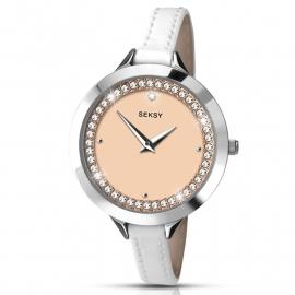 Sekonda Horloge SEK.2155 Dames Zilver Strass