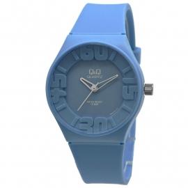 Q&Q zwart kunststof horloge