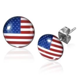 US oorstekers / Amerikaanse vlag