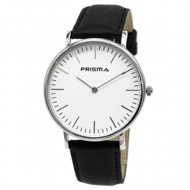 Prisma Horloge P.1623.146GZ Unisex Edelstaal Zilver