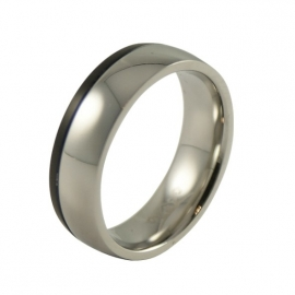 Unieke heren-ring in 316L stainless steel TB2416