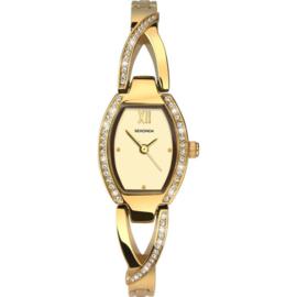 Sekonda Goudkleurig Dames Horloge met Open Horlogeband