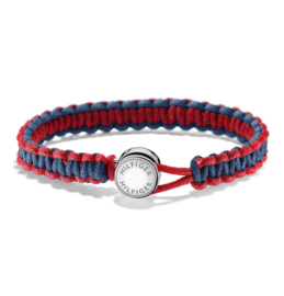 Rood met Blauwe Gevlochten Touw Armband van Tommy Hilfiger TJ2700944