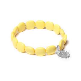 Gele Armband van BIBA 53093MIX9