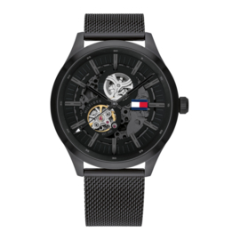 Zwart Spencer Horloge van Tommy Hilfiger