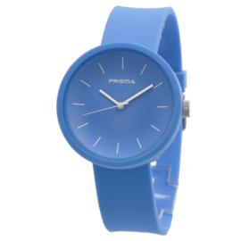 Prisma Blauwe Unisex Horloge met Blauwe Band