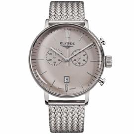 Stentor Chronograaf Heren Horloge met Milanese Band