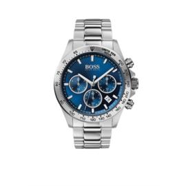 Hugo Boss Horloge Hero Zilverkleurig Horloge met Edelstalen Band van Boss