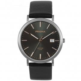 Prisma Heren P.1668 Horloge Titanium Saffierglas 5 ATM