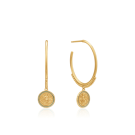 Emperor Hoop Earrings van Ania Haie