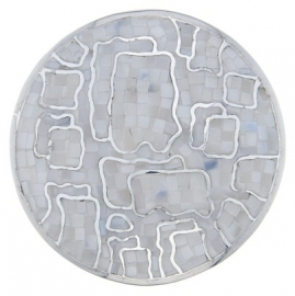 Zilveren MY iMenso mozaiek-munt