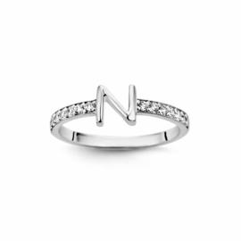 Nomelli Iniziali-Alleanza Ring van Zilver