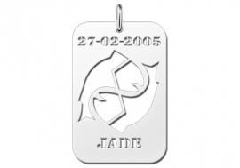 Names4ever Vissen Horoscoop Hanger ZHS048