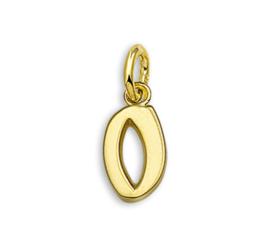 Gouden Letter Bedel Hanger – O | SALE
