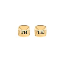 Goudkleurige Manchetknopen van Tommy Hilfiger