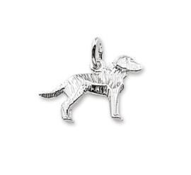 Labrador Bedel-Hanger van Zilvel
