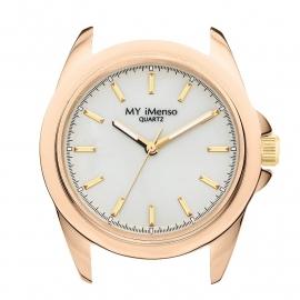 MY iMenso Quartz Roségoudkleurige Horloge Kast