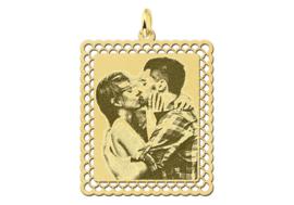 Gouden Fotogravure Hanger met Sierrand van Names4ever