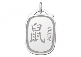 Names4ever Chinees Sterrenbeeld Rat Hanger ZHS025