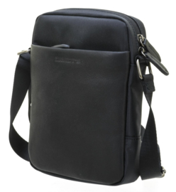 Zwarte Cross Body Berckely Tas van Davidts