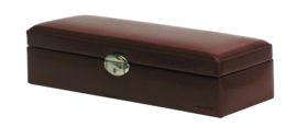 Davidts Horlogebox Rood Leer