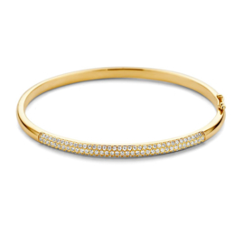 Excellent Jewelry Geelgouden Bangle Armband met 1,00 crt. Briljanten