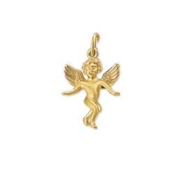 Engel Hanger van Gepolijst Geelgoud