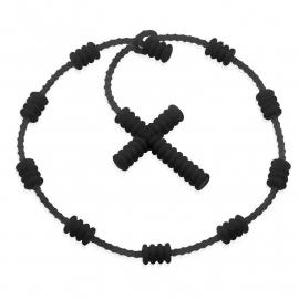 Fashion Kruis Rubberen Armband SKU91443