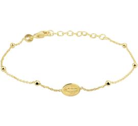 Goudkleurige Armband Scapulier - Christelijke Sieraden
