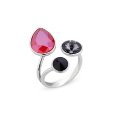 Swarovski Ring van Spark Jewelry - Royal Red