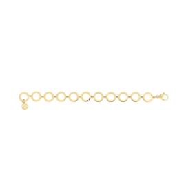 Goudkleurige Opengewerkte Cirkels Armband van Tommy Hilfiger TJ2780311