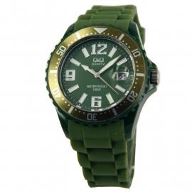 Donkergroene Horloge / Q&Q Horloges