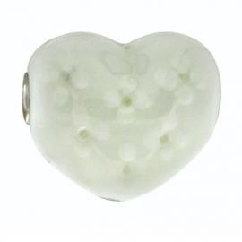 Grote Witte Hartvormige Bedel van BE iMenso 42/59