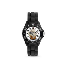 Zwart KIDZ Horloge met Piratenschip van Colori Junior