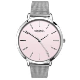 Robuust Sekonda Zilverkleurig Dames Horloge