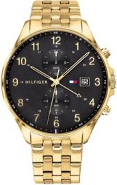 Tommy Hilfiger Goudkleurig Heren West Horloge